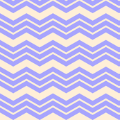 Chevron Triple in Lavender Purple