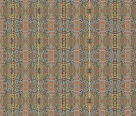 Mayfly Hourglass  fabric by zsmama on Spoonflower - custom fabric