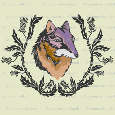 Thistle and Fox Spring Emblem