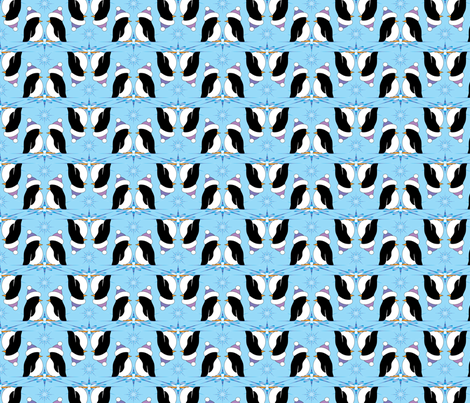 Penguin Pairs fabric by jjtrends on Spoonflower - custom fabric