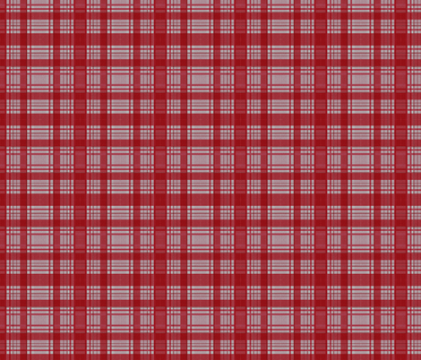 Red Lumberjack fabric by glanoramay on Spoonflower - custom fabric