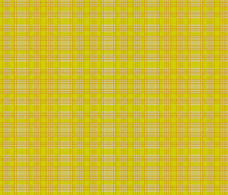 Yellow Lumberjack fabric by glanoramay on Spoonflower - custom fabric