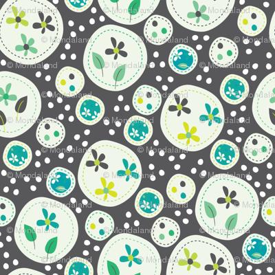 Flora (Grey/Green)