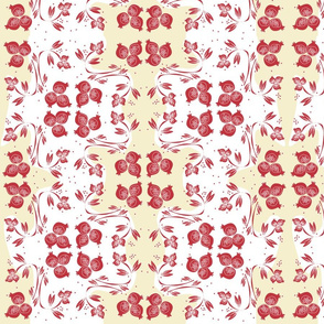 pomegranates chintz