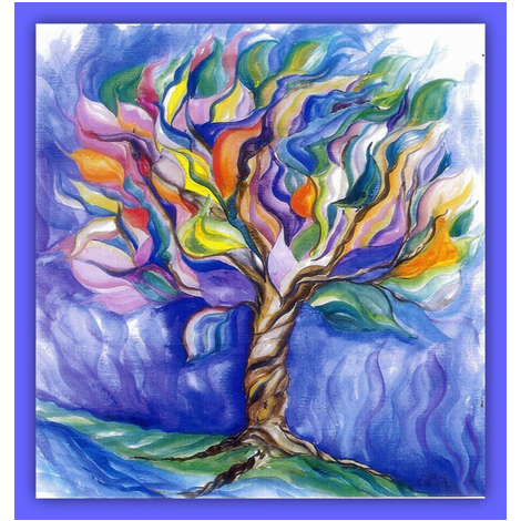 Tree of Life Watercolor Framed_Swatch