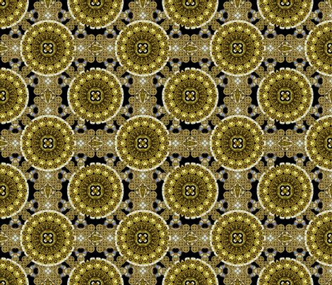 King's Treasure Chest fabric by joanmclemore on Spoonflower - custom fabric