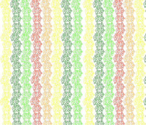 tartarugas_pattern fabric by malalasoifer on Spoonflower - custom fabric