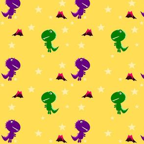 Cute Dino Stars