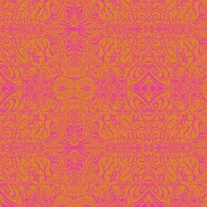 Pink & Orange Doozie-ch-ch