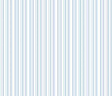 Hampton Stripes in Pale Blueberry Blue fabric by lilyoake on Spoonflower - custom fabric