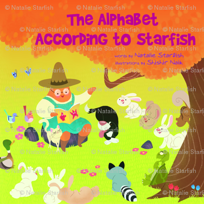 The Alphabet According to Starfish, children's book