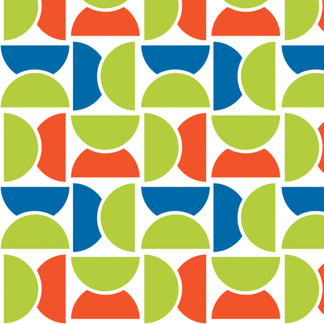 Lime Squeeze fabric by fridabarlow on Spoonflower - custom fabric