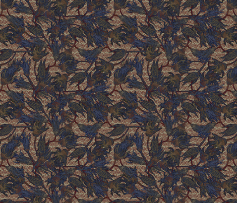 rusty_crinoids fabric by glimmericks on Spoonflower - custom fabric