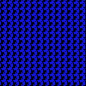 Houndstooth Bleu