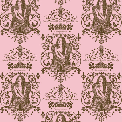 pink paris fabric by paragonstudios on Spoonflower - custom fabric