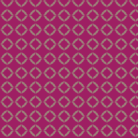 moustaches_plum fabric by owls on Spoonflower - custom fabric