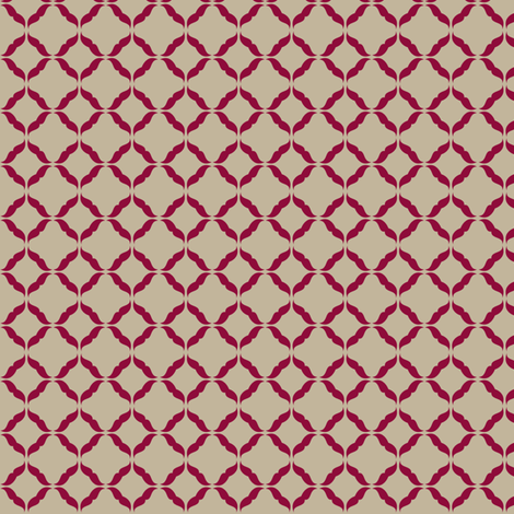 moustaches_red fabric by owls on Spoonflower - custom fabric