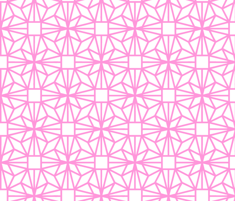 Diamond (pink) fabric by pattern_bakery on Spoonflower - custom fabric