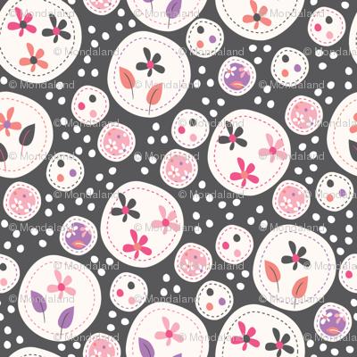 Flora (Grey/Pink)