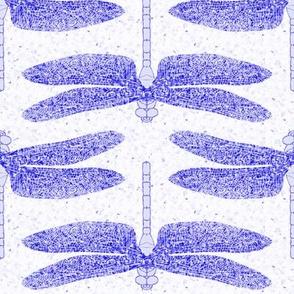 dragonfly violet