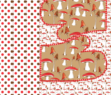 tablier_champignon_mignon fabric by nadja_petremand on Spoonflower - custom fabric