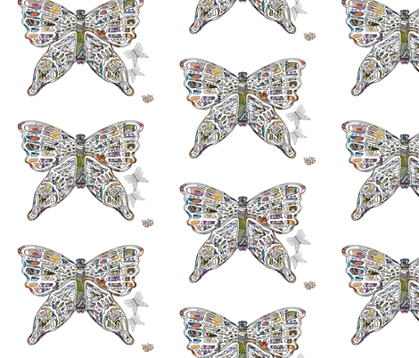Legendary fabric by aftermyart on Spoonflower - custom fabric