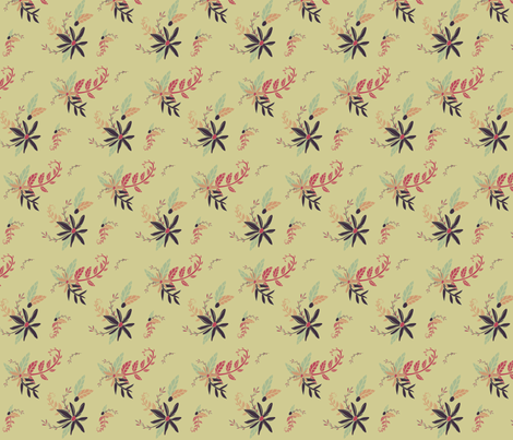 Atomic Age Floral - 1 fabric by nicoledobbins on Spoonflower - custom fabric