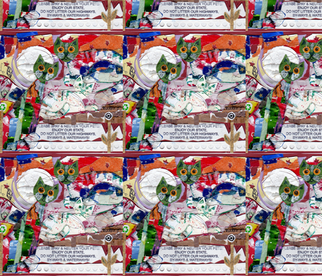 IMG/Kitty,Kitty.Kitty fabric by vickiejofranks on Spoonflower - custom fabric