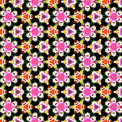 John Lennon Flower Power fabric by theunicornandthewasp on Spoonflower - custom fabric