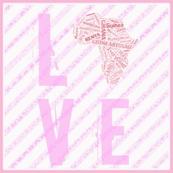 Africa Love  BabyPink-ch
