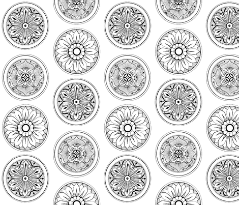 medallions fabric by dolphinandcondor on Spoonflower - custom fabric