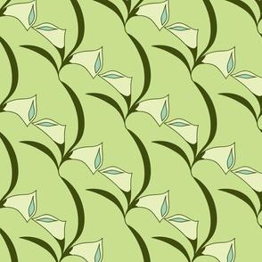 Deco Calla Lily - green