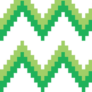 Green and Green Chevron