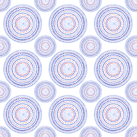 Dancing dervish circles on white fabric by su_g on Spoonflower - custom fabric