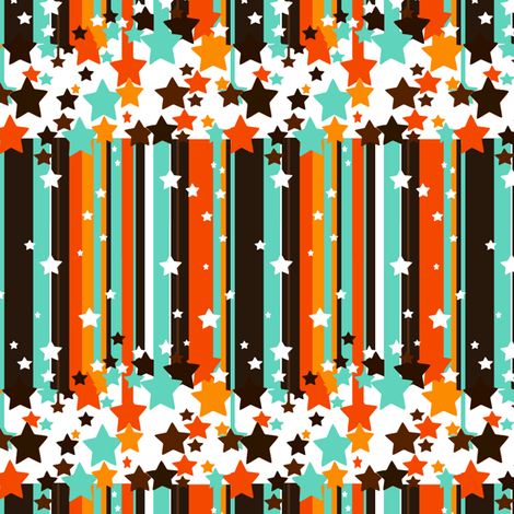 Not Your Traditional Stars & Stripes fabric by simplysweet on Spoonflower - custom fabric