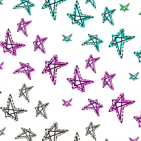 Stars_as_stripes fabric by malalasoifer on Spoonflower - custom fabric
