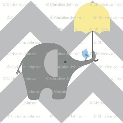 zekie chevron & umbrella