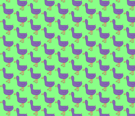Dodos fabric by serenity_ii on Spoonflower - custom fabric
