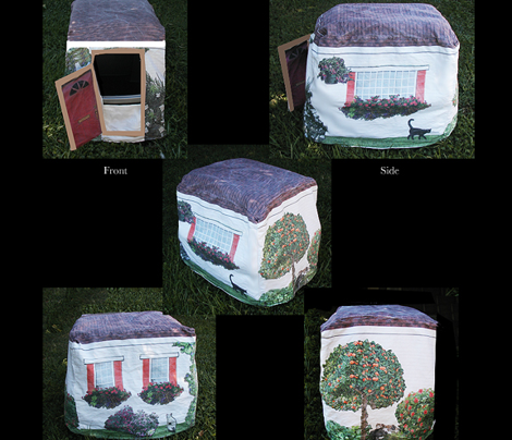 Cat House Kitty Litter Cover
