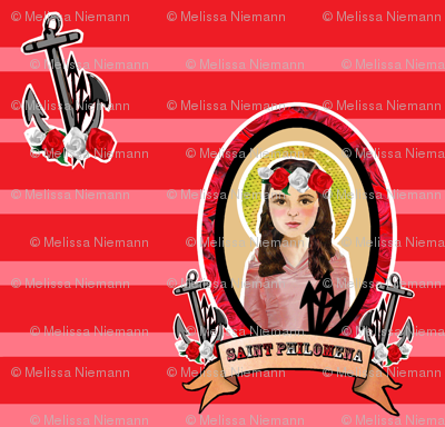 Saint Philomena's Anchor of Hope