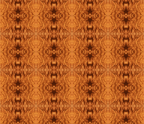 Wrinkled Brown Paper in a Small Mirror Repeat fabric by anniedeb on Spoonflower - custom fabric