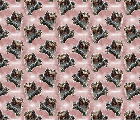 Australian Shepherds small repeat fabric by rusticcorgi on Spoonflower - custom fabric