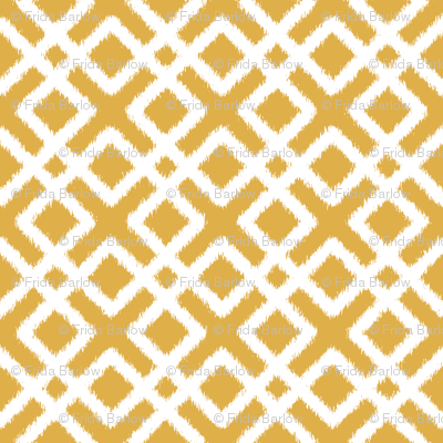 Weave Ikat in Gold