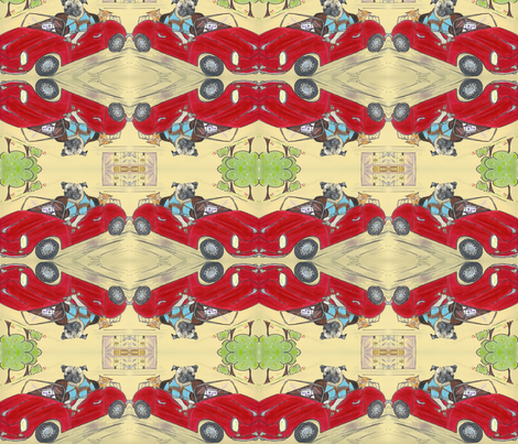 quick trip fabric by cfishdesign on Spoonflower - custom fabric