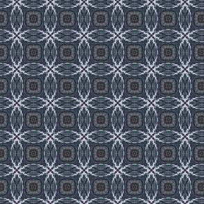 Driftwood -- Interlocking circles in blue-greys