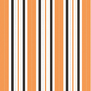 French Flower Shop Stripe (Halloween)