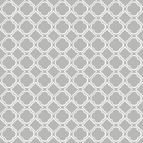 Trellis Mist fabric by lulabelle on Spoonflower - custom fabric