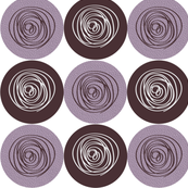 Purple circles-3