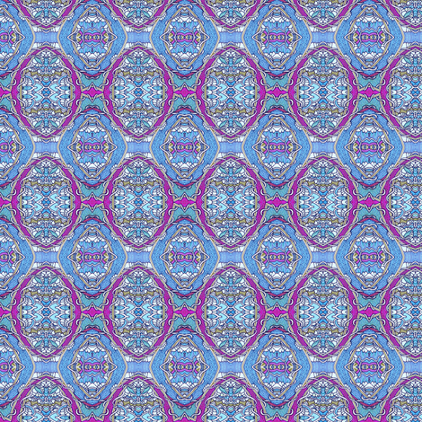 When Blue and Raspberry Laid an Egg fabric by edsel2084 on Spoonflower - custom fabric
