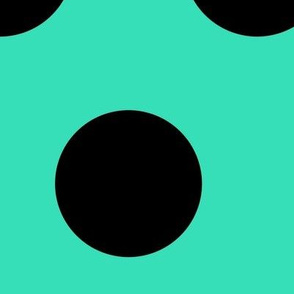 Black Dots On Green